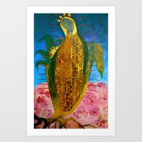Corn Maiden Art Print