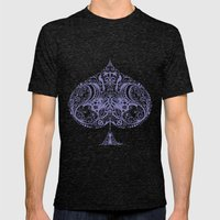 Thistle Spade Mens Fitted Tee Tri-Black SMALL