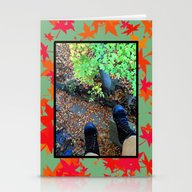 Dangling (fall) Stationery Cards