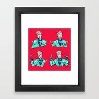 Run Dry Framed Art Print