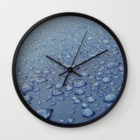 After The Rain Wall Clock
