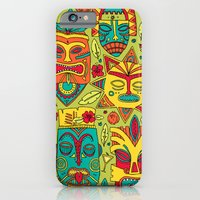 iPhone & iPod Case featuring Tiki tiki by Binnyboo