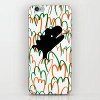 Jungle Dinosaur iPhone & iPod Skin