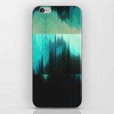 Aqua Block iPhone & iPod Skin