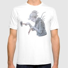 chroma Mens Fitted Tee SMALL White