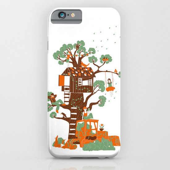 Mon arbre iPhone & iPod Case