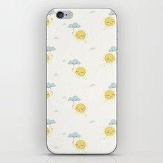 Little Sun white iPhone & iPod Skin