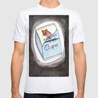 Hurricane Chow Mens Fitted Tee Ash Grey SMALL