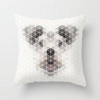 Happy Pup Throw Pillow