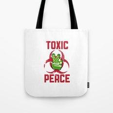 TOXIC PEACE Tote Bag