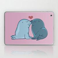 Seal Kisses Laptop & iPad Skin