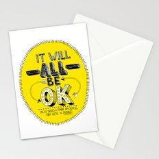 It Will Be OK Stationery Cards