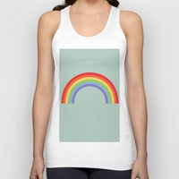 Rainbow Sky Unisex Tank Top