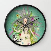 Ophelia Wall Clock