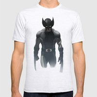 Wolverine X Force Mens Fitted Tee Ash Grey SMALL