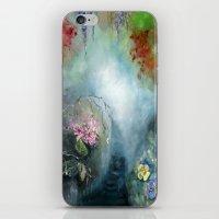 Spring Paradise Painting iPhone & iPod Skin
