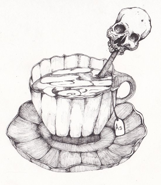 AS TEA Art Print
