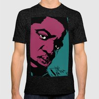 Notorious Mens Fitted Tee Tri-Black SMALL
