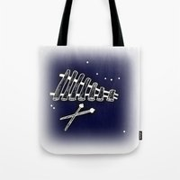 Space Marimba Tote Bag