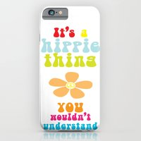 iPhone & iPod Case featuring It's a hippie thing by Kinga David