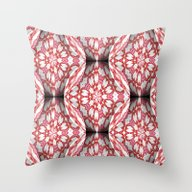 Candy Ornaments Throw Pillow