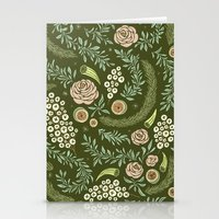 Spring's Dawn Floral Stationery Cards