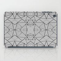 Abstract Mirror Black On… iPad Case