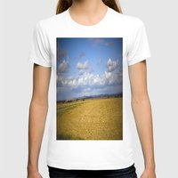 German Countryside Womens Fitted Tee White SMALL