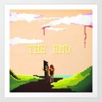 The Last Of Us Art Print
