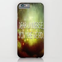 iPhone & iPod Case featuring Dear Universe by The Haus of Chaos: Alli Woods Frederick