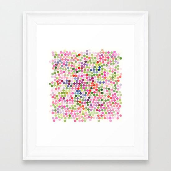 dance 11 Framed Art Print