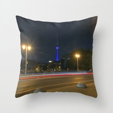 Nocturnal Landscape Of B… Throw Pillow