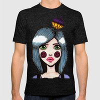 Sugar Rush Close Up Mens Fitted Tee Tri-Black SMALL