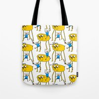 Adventure Time - Jake & Finn Tote Bag
