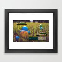 I always hated Gary Oak Framed Art Print