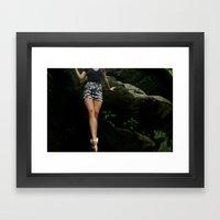 212 Framed Art Print