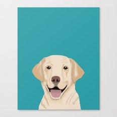 Golden Labrador Retrieve… Canvas Print