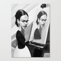 Frida Khalo Canvas Print