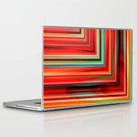 Corners Red Laptop & iPad Skin