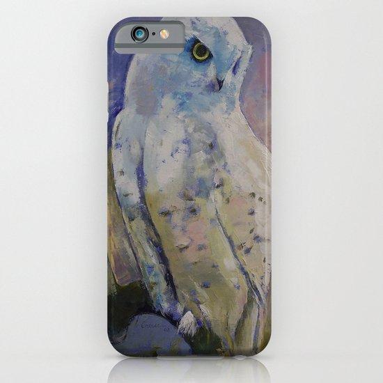 Snowy Owl iPhone & iPod Case