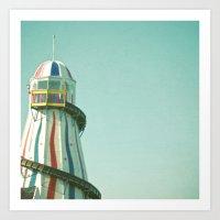 Summer Slide Art Print