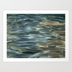 Water Abstract Art Print