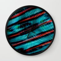 Wave Theory Wall Clock