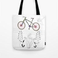 Photo Bicycle Tote Bag