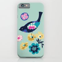 Birds and Blooms 4 iPhone 6 Slim Case