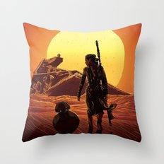 A Force Awakens Throw Pillow