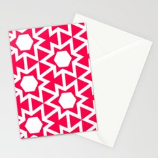 Zoutman Neon Pink Pattern Stationery Cards
