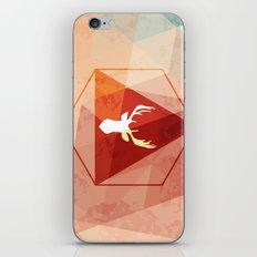Deer poly iPhone & iPod Skin