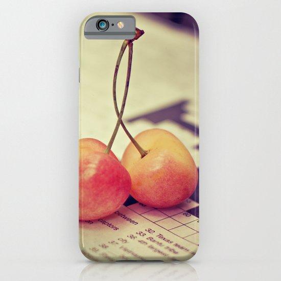 cherries iPhone & iPod Case