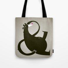 amp-bear-sand poster Tote Bag